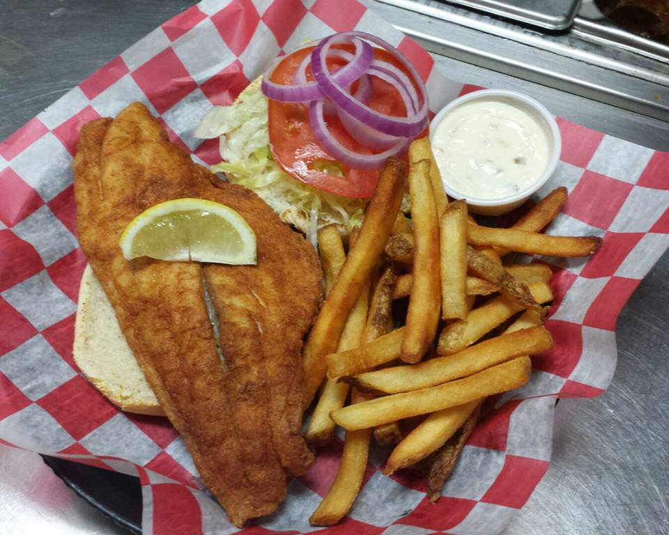 Our menu winners grill for Prime fish and hoagie
